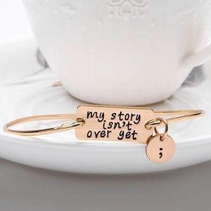 """Jewelry - My story isn't over yet"""" ~ Raise Awareness!"""
